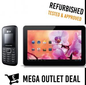 Combo Deal 10.1 Inch Tablet en LG Smartphone