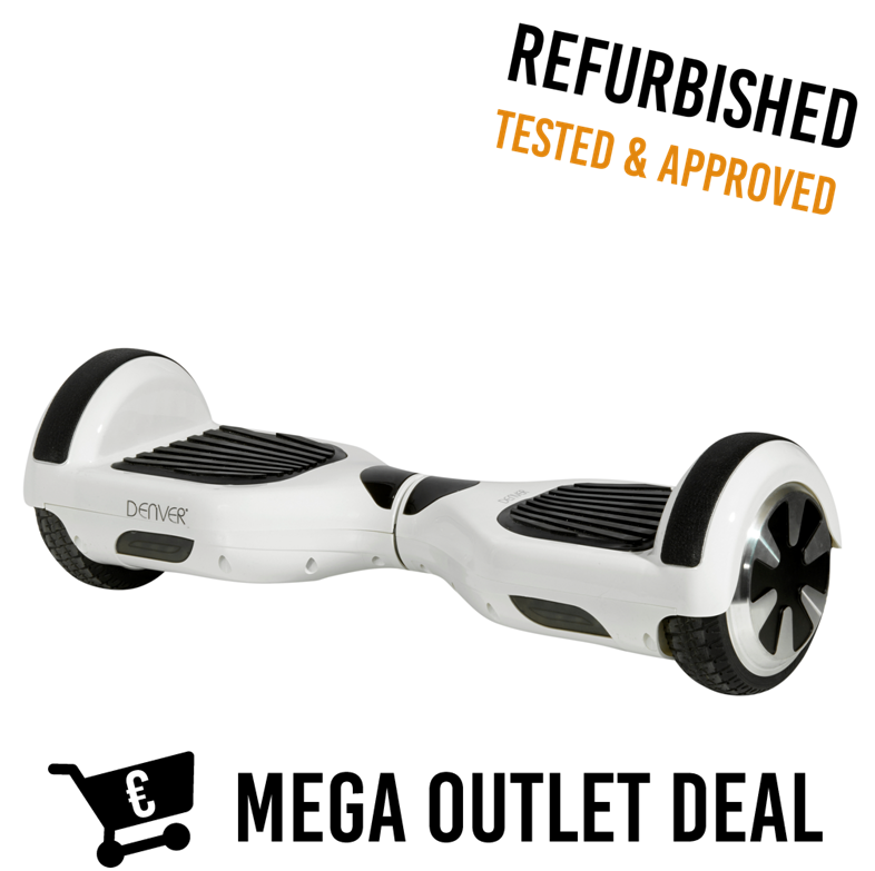 Hoverboard DBO6500 Wit Outlet Deal
