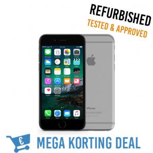 MEGA KORTING DEAL iPhone 6 Space Gray