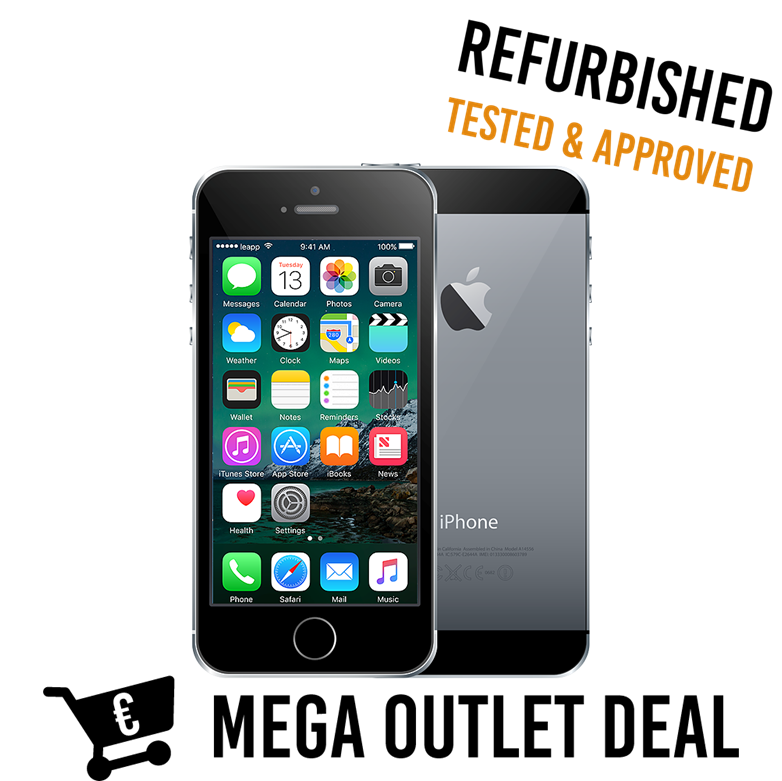 Refurbished iPhone 5s 16Gb Space Gray Mega Outlet Deal