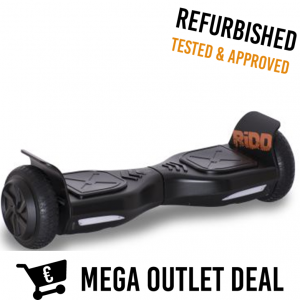 RiDD 6.5 Inch Urban Hoverboard Black OUTLET DEAL