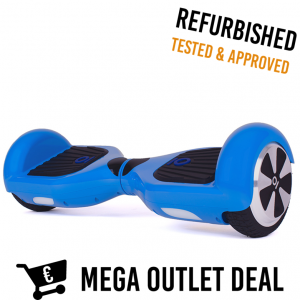IO HAWK HOVERBOARD BLAUW OUTLET DEAL